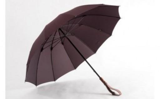 【受注生産】ヌレンザ 雨傘(ボルドー) 全8色あり