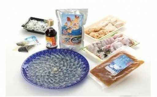 長崎県産とらふぐの刺身とちり鍋セットをどうぞ!