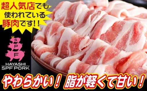 綱島養豚場【林SPF】豚ロースセット1kg