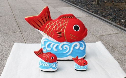 ダルマじゃなくて「鯛」なんです!かわいい縁起物の「願満の鯛」