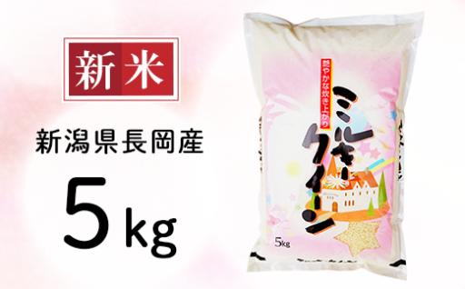 新潟県長岡産ミルキークイーンが人気です!