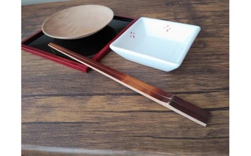 新しいお礼品「煤竹箸(すすたけばし)」!