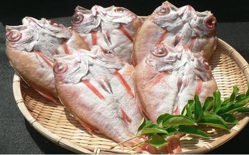 浜田港のどぐろ一夜干無添加うす塩味(4~5枚)