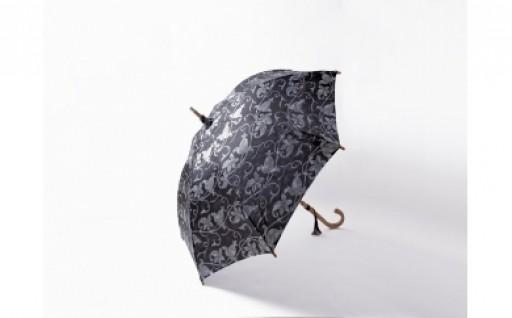 高級晴雨兼用傘「透彩」グレー系