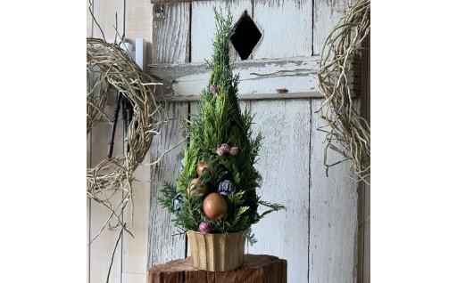 クリスマスツリーアレンジ「クリスマスキャロル」