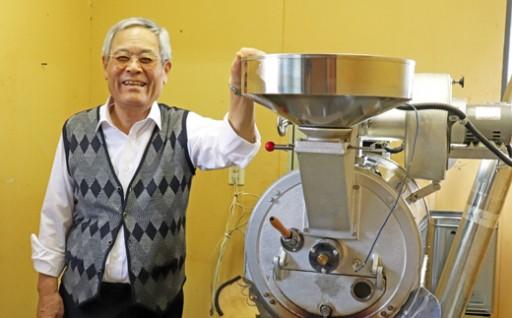 9種類楽しめる!田中さんの自家焙煎珈琲【定期便】
