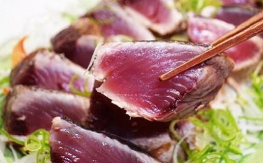「日もどり」カツオのタタキセット(藁焼き/4~6節)約1kg