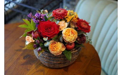 どんなお花が届くかはお楽しみのお花の定期便♪