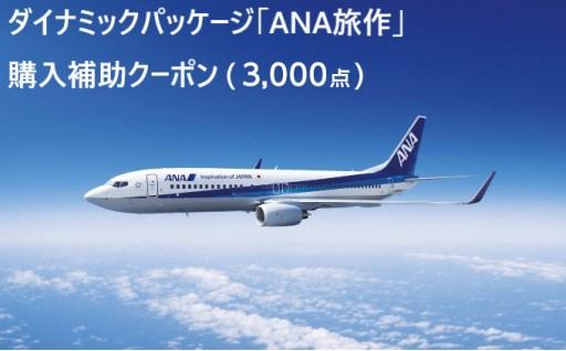 ダイナミックパッケージ「ANA旅作」購入補助クーポン