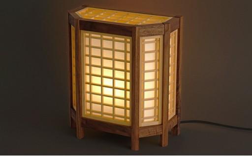 組子行燈(あんどん)