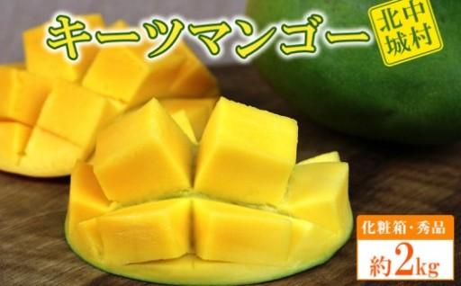【2020年発送】キーツマンゴー約2kg【化粧箱・秀品】