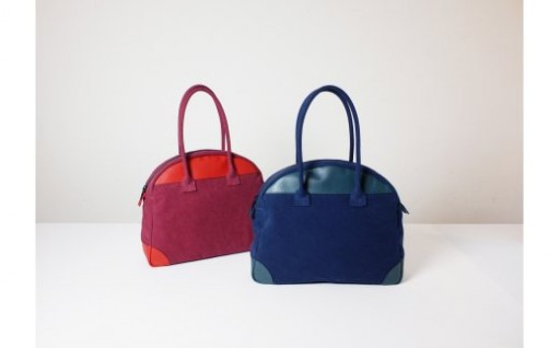 992 ELLE - BOSTON TOTE(ネイビー)
