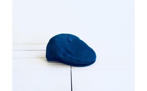 藍染ハンチング