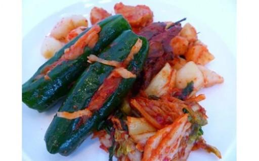 本場韓国の味!手作りキムチ 6種セット