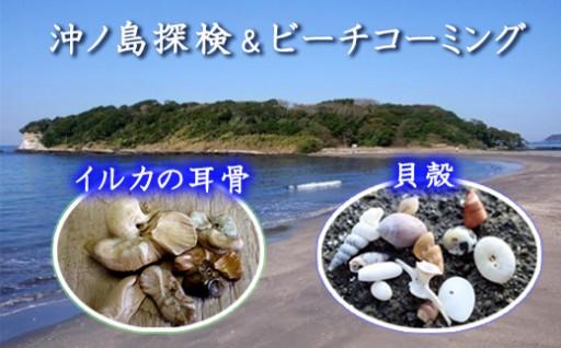 受付再開!無人島「沖ノ島」で自然と歴史を探検学習