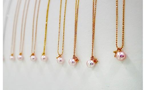 無調色にこだわった、松本真珠の〝サンゴパール〟