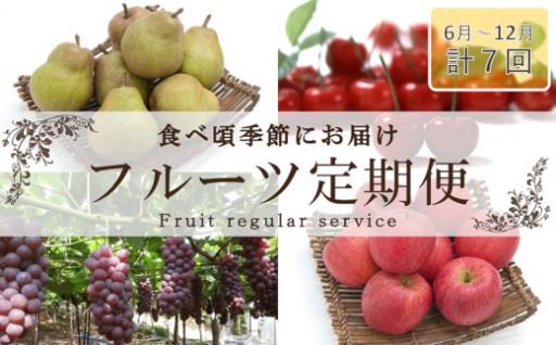先行受付《果物王国山形から!》旬のフルーツ定期便