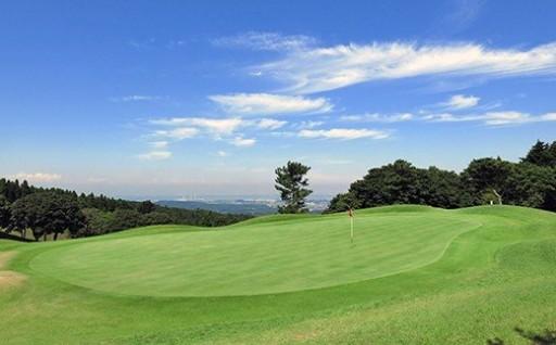 鹿野山ゴルフ倶楽部 平日1Rセルフプレー券(昼食付)2名