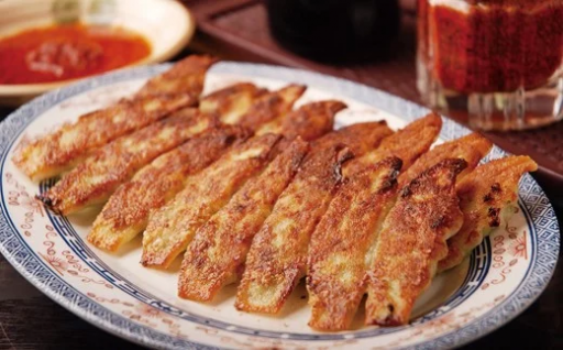 松龍軒の 薄焼き 冷凍 餃子【ぎっしり160個】