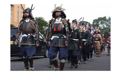 【いざ出陣】武者行列を含む一日秋の陣祭りを堪能するコース