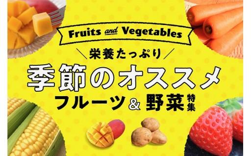 季節のフルーツ、野菜など旬の味をご紹介!