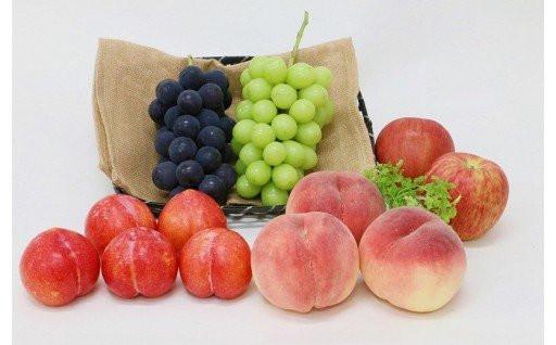 山梨市産フルーツ詰め合わせ定期便始めました✨✨