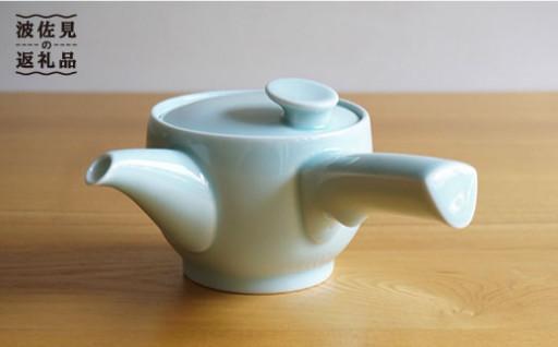 【白山陶器】グッドデザイン賞の急須 青白釉が新登場です!