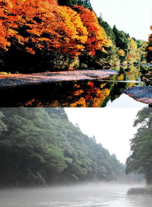 今回、被災した関市武儀・上之保地域は津保川の美しく清らかな水景色があり、川沿いを深緑の山々が連なる土地で、約4,800人の地域住民が穏やかな時間を過ごしていました。