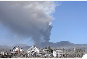 宮崎県都城市 平成30年霧島山(新燃岳)噴火に伴う災害支援受付