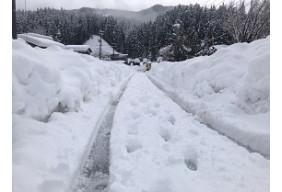 令和3年福井市  雪害復旧支援