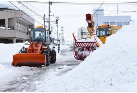 令和3年福井県大野市 雪害支援