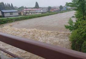 令和3年8月豪雨 青森県七戸町
