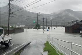 令和3年8月豪雨 佐賀県武雄市