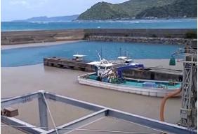 令和3年沖縄軽石漂着被害 沖縄県国頭村