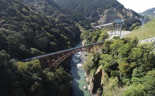 南阿蘇鉄道/第一白川橋りょう⇒2023年夏頃に復旧の予定