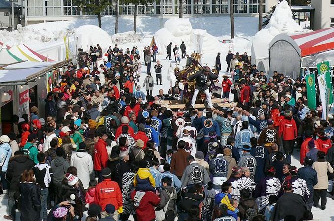 いいやま雪まつりは平成31年2月9日と10日に開催します