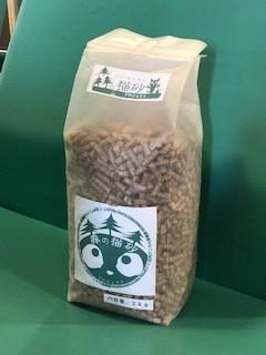 ●森の猫砂(動物保護団体アニマル倶楽部販売)