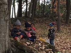 3.整備された森林空間は、子どもたちの居場所へ