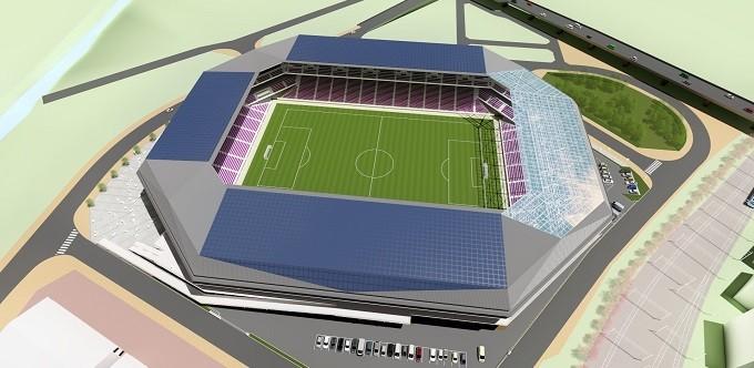 笑顔と感動が拡がるスタジアムを目指して、2020年1月にオープン予定!