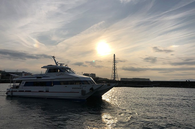 旅客船運航を継続的に実施