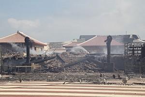 火災で全焼した首里城の再建支援