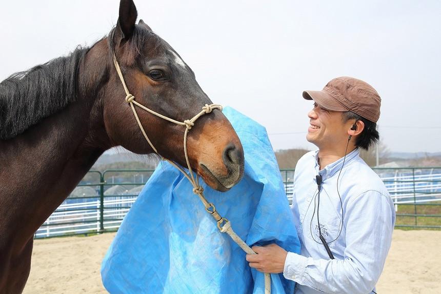 人と馬の信頼関係を築きあげることが必要