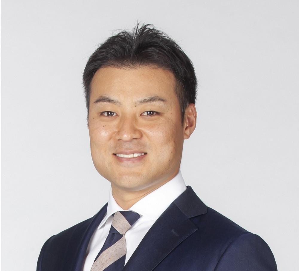プロジェクト応援アンバサダー  田中 賢介氏(元プロ野球選手、北海道日本ハムファイターズ・スペシャルアドバイザー)