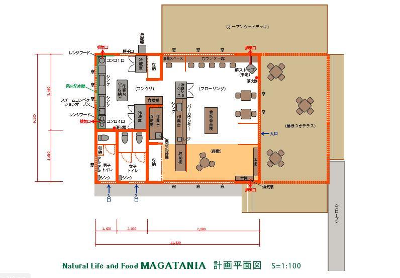 まずは拠点となるカフェレストランの2021年4月のオープンを目指します!