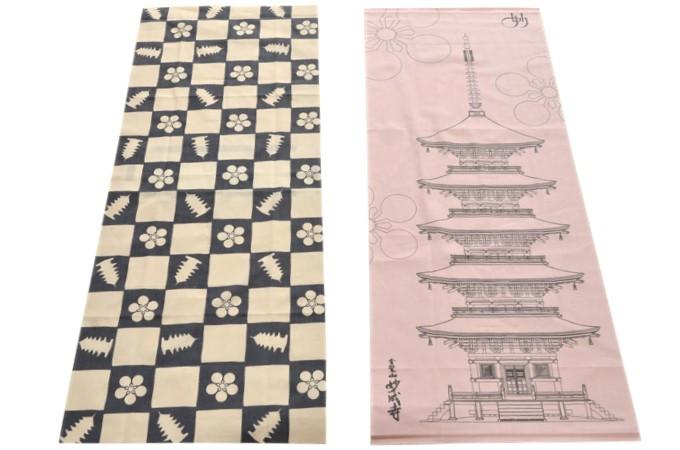 妙成寺オリジナル手ぬぐい(2種)