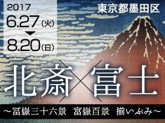 【第9弾】開館記念展第4弾!『北斎 × 富士 ~冨嶽三十六景 富嶽百景 揃いぶみ~』を支援しよう