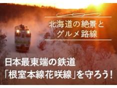 日本最東端の鉄路「根室本線花咲線」を守ろう!~美しい大自然が織り成す絶景、海と大地のグルメ路線~