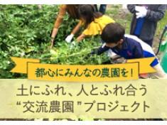 都会のまんなかに子供からお年寄りまで楽しめる「たもんじ交流農園」を創設したい!