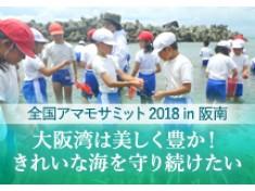 阪南の海のアマモを守る!