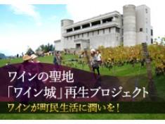 町民と共に歩んできた自治体初のワイナリー「ワイン城」、観光客と町民が繋がる施設に整備したい!